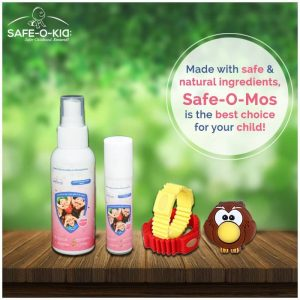 Naturally Safe Mosquito Repellents For Kids