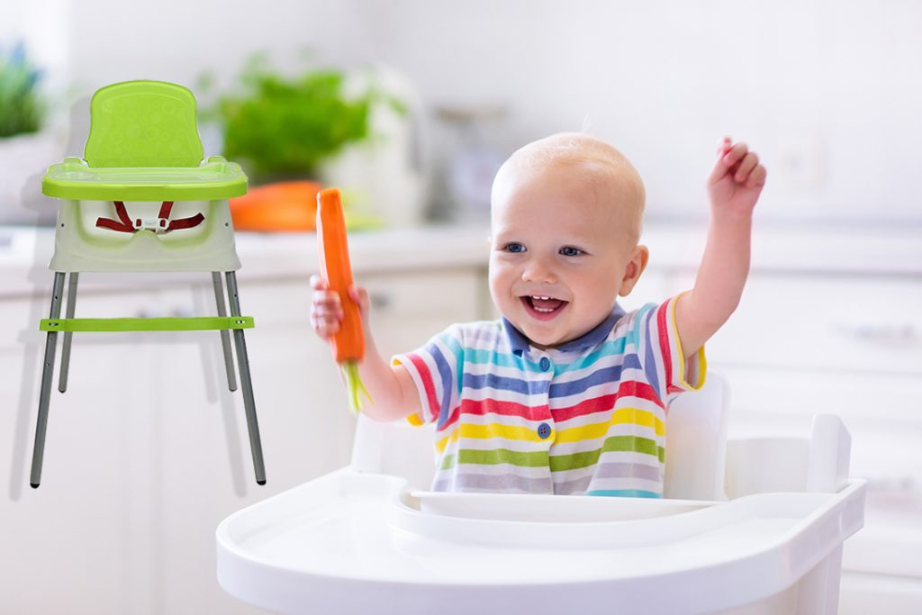 TIPS TO KEEP YOUR CHILD SAFE IN A HIGH CHAIR